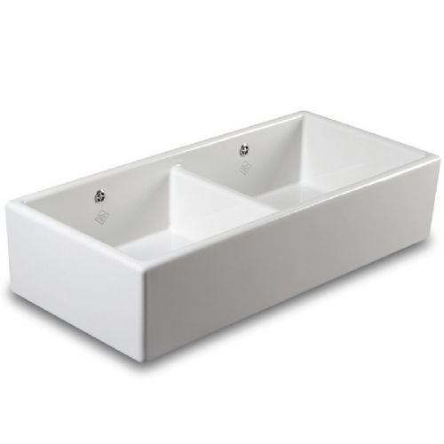 Shaws Shaker Double 1000 Ceramic Sink